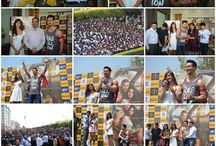 Celebrities Tiger Shroff and Disha Patani @ GL Bajaj, Gr. Noida