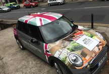 Redbrick Office Mini / The Mini- A design classic which complements our brand at Redbrick. A pleasure to drive and I'm sure it will bring a smile to fellow drivers.
