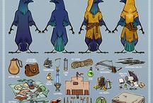 D&D Characters/Art