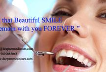 Beautiful Smile Remains Forever.... Dentistry treatments / Here you have all our #dentistry info. With us you can find the best dentist and the most affordable dentistry package.