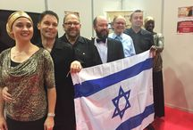 Ministry in Israel, November 2015 / On 20-21 November David Hathaway shared the Good News with 2000 Russian Holocaust survivors and their families living in Israel; in both of the services, held in the Maxi Dome Tel Aviv, worship was led by Vinesong. The Friday afternoon service was filmed and broadcast on Yes TV. Preceding these meetings, on Thursday 19 November, David met with the Director General of the Knesset, Senior Members of the Knesset, and Dalia Itzik, former Acting President of Israel.