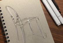 Furniture + drawing