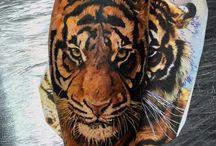 Tigertatovering