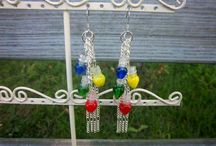 Winter and Christmas Jewelry by Threaded Chains