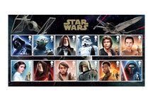 Звездные Войны (STAR WARS) / 20 октября 2015 Королевская почта Британии выпускает марки посвященные выходу седьмого эпизода кинофраншизы STAR WARS