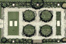 Hand-drawn Garden Plans