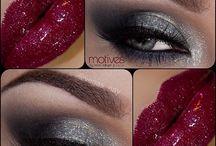 Olhos e bocas / Maquiagem