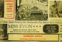 Vintage Circus Memorabilia
