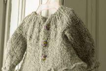 Trabalhos em Tricô e Crochet - Bébé