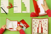 Carte pop up diy