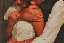 Wedding shots 1/2 body