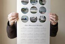 ideias calendário