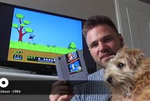 PLAYER WITH POWER / RETRO GAMING WITH MY DOG WILSON