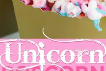 Unicorn Party Ideas / Lots of DIY decorations and free printables to choose from.  Food ideas, Games, goodie bags, cake, girls party, Photo booth ideas, Craft, party favors, Dessert Table ideas, Rainbow, creative and simple snacks, coloring pages.  Things to make at home