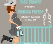 Custom Baby Shower Invitations / View our exclusive collection of custom baby shower invitations! / by Stork Baby Gift Baskets