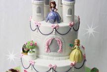 Tortas de princesa sofia