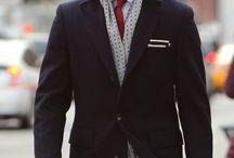 Winter male fashion