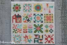 cross stitch of quilt blocks / by Ina