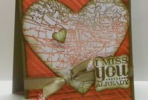 World map stampin up