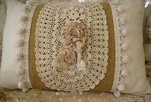 Crochet / Almofadas de chochet