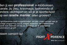 FightXperience - Méér dan vechtsport! / Wij komen met een nieuw concept op de markt. Hiermee kan jij je gaan onderscheiden van andere sportscholen. Op deze manier ook meer leden verkrijgen en voor net dat stukje meer zorgen in de samenleving!