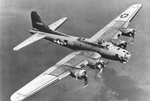 B17 Flying Fortress / One of the famous bombers from World War 2.  Used in many bombing campaigns over Europe.