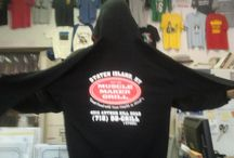 Customized Apparel! / Keep Warm this Season with Customized Apparel.  We offer a full line of sweats, jackets and headwear