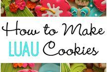 Hawaii cookies
