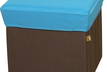 BOX STOOL Blue / BLC377BL