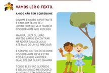 poesias infantis / by maria cabral