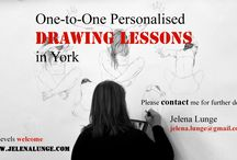 www.jelenalunge.com / Drawing lessons in York. UK