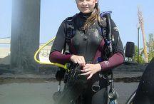 Wetsuit woman