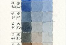 Colour Charts and Brushes