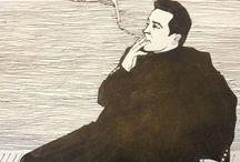 Katya Kender's drawings