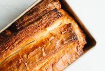 Croissant deeg brood