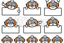 Vector Robot Character / Boians Vector Robot Character
