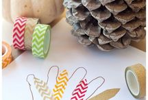 Thanksgiving crafts / by LifeCreated