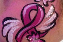 Ribbon Face Painting
