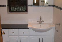 Corringham Bathroom / A fully refurbished bathroom including cabinetry, suite and tiling. http://www.ppmsltd.co.uk