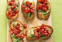 Tartines/amuses gueules