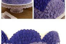 Идеи кремовых украшений