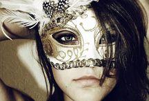 """Masquerade masks / """" Masquerade ball anyone..?? """" / by Haley Vanessa"""