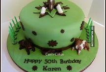 Taart paard / cake horse fondant