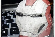 Iron Man Mark 33: Silver Centurion papercraft