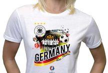 Euro 2016 Woman Tshirts