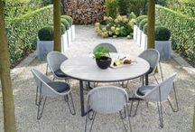 CourtYard Gravel Small Garden Design