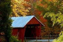 Covered Bridges, Old Barns and Churches / by Lawanna Davis