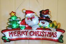 Modern Christmas Decoration Xmas Batteries Led Snowtime Tree Snow man Gift Decor