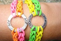 Rubber Band Jewelry / by Laura Zellers