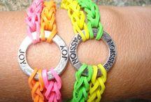 Rainbow_loom (pulseras de gomitas)